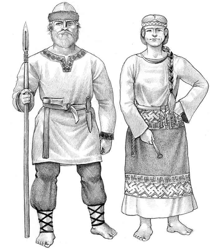 Картинки крестьянина древней руси